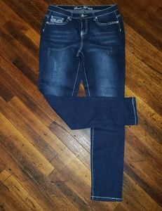 Nwot Twelve K USA Skinny Cut Jeans size 14